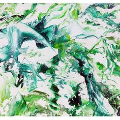 【godo_terasawa】さんのInstagramをピンしています。 《こないだの個展での新作たち11 title :  森 (forest) size:F3 (220×273mm) Acrylic on canvas, 2017  #terasawart #寺澤晋吾展 #絵 #絵画 #美術 #アクリル #創作 #アート #アクリル画  #森 #forest #air #breeze #painter #art #fineart #artwork #green #abstractpainting #抽象画》