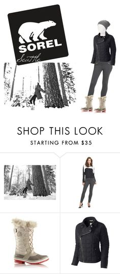 """Tame Winter with SOREL: Contest Entry"" by laurenkklala ❤ liked on Polyvore featuring SOREL and sorelstyle"