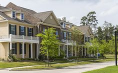 Pallmetto Townhomes Liberty Branch The Woodlands Village Of Creekside Park