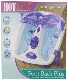 HOT SPA 61355 Foot Bath Plus with Acupressure Massage Center, White/Purple Hot Spa http://www.amazon.com/dp/B000GZAKFY/ref=cm_sw_r_pi_dp_Q5z4tb0EA3ZWK