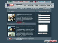 ELZET klimatyzacja do domu - Katalog Stron - Najmocniejszy Polski Seo Katalog - Netbe http://www.netbe.pl/dom/elzet,klimatyzacja,do,domu,s,6844/