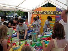 kids festival art area - Google Search