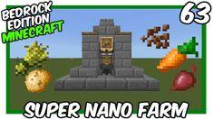 Super Nano Farm Bedrock Edition