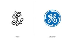 GE logo evolution