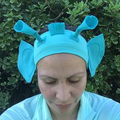 A personal favorite from my Etsy shop https://www.etsy.com/listing/271151312/greedo-inspired-running-headband-3