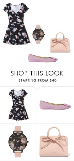 """""""Untitled #175"""" by iambeickyg on Polyvore featuring Hollister Co., Roger Vivier, Olivia Burton and Mansur Gavriel"""