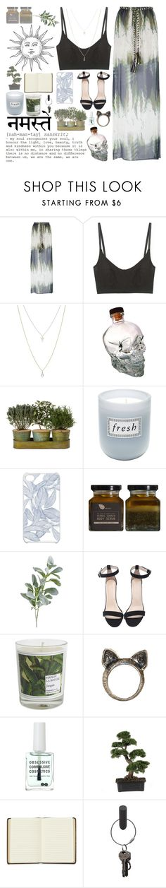 """""""we are the same, we are one"""" by shannonmarie-xo ❤ liked on Polyvore featuring Jo No Fui, Base Range, ASOS, Fresh, CO, Pier 1 Imports, Maison La Bougie, Retrò, Obsessive Compulsive Cosmetics and Nearly Natural"""