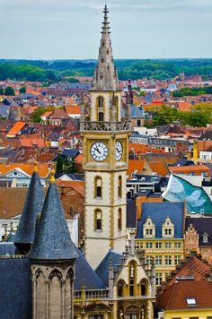 Gents and Bruge, Belgium