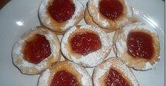 Υπέροχα μπισκοτάκια με μαρμελάδα του Δημήτρη Greek Recipes, My Recipes, Cheesecake, Muffin, Sweets, Cookies, Chocolate, Breakfast, Desserts