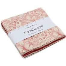 Farmhouse Reds Charm Pack by Minick & Simpson for Moda Fabrics