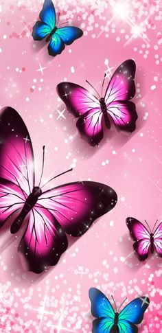 By Artist Unknown. Butterfly Pictures, Cute Butterfly, Butterfly Flowers, Phone Screen Wallpaper, Cellphone Wallpaper, Iphone Wallpaper, Paper Butterflies, Beautiful Butterflies, Cool Backgrounds