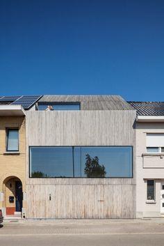 Wooden House CM / Bruno Vanbesien + Christophe Meersman/  Asse, Belgium