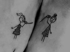 matching sister tattoo designs is a beautiful way to show your love towards each other