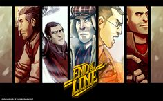 Ducks. Pigeons. Bombs.  (End of the Line by defenestratin on DeviantArt)