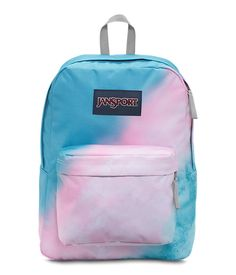 JanSport High Stakes Backpacks Multi Sun Fade Ombre Brand New With Tags Mochila Jansport, Jansport Backpack, Backpack Bags, Cute Backpacks For School, Cool Backpacks, Lightweight Backpack, Back Bag, Cute School Supplies, Cute Bags