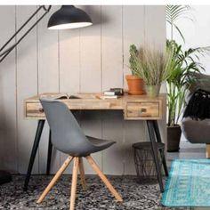 Biurko LEO - White Label Living - Nordic Decoration Home