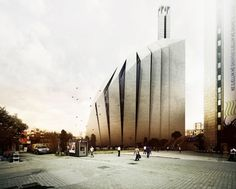 Central Mosque of Pristina Competition Entry   Tarh O Amayesh   Kosovo   DesignDaily   Designs Everyday!