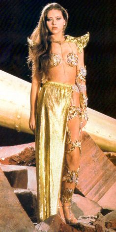 Ornella Muti (Princess Aura in Flash Gordon Ornella Muti, Sci Fi Tv Series, Star Francaise, Flash Gordon, Classic Sci Fi, Space Girl, Space Age, Italian Actress, Sci Fi Movies