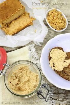 zucchero e viole vegan-vegetarian blog: Formaggio di mandorle fermentato