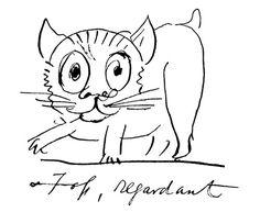 Foss Regardant |  by Edward Lear