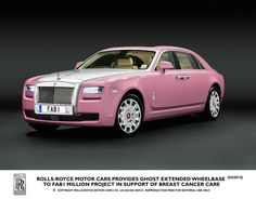 Canadian Automotive Journal: Car Critics  Those who purchase a Rolls-Royce, do so at an expense of over $300,000. Therefore a serious thought process usually takes place when selecting the finish of the interior or the exterior colour of the vehicle and pink is not the first colour that comes to mind when imagining a $300,000 full-size luxury car.  http://www.carcritics.ca/2013/04/rolls-royce-ghost-fab1-pink-rolls-royce.html