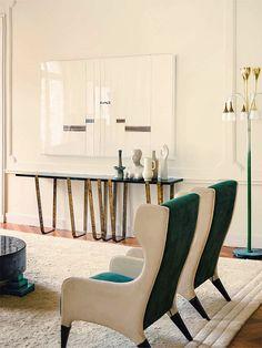 Italian Furniture Is a Perfect Choice To Attain Contemporary Living - Home Decor & Design Ideas. Interior Design Blogs, Best Interior, Interior Design Inspiration, Modern Interior, Interior Architecture, Studio Interior, French Interior, Interior Ideas, Modern Decor