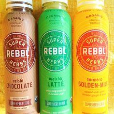 Kind of #Obsessed REBBL Super Herbs Drinks!!! The BEST!  http://www.Rebbl.co #Rebbl