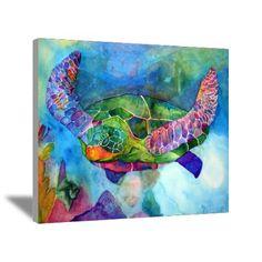 Sea Turtle Canvas Art