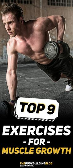 The Top 9 Exercises for The Best Muscle Growth Results! #fitness #gym #workout #exercise #bodybuilding