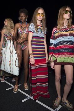 The Darker Horse: Spring 2016: Tommy Hilfiger | Crochet Dress | Crochet Tunic | Runway | Backstage