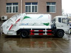 Waste Transfer Station, Rubbish Truck, Garbage Collection, Garbage Truck, Trucks, Vehicles, Engineering, India, Content
