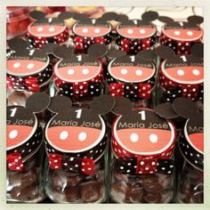 Mickey Mouse party Mason Jars