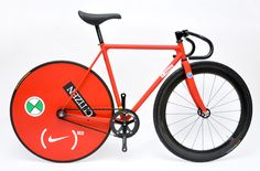 """Feather Cycles x Tokyo Fixed Gear x Nike """"Tied Together"""" Bike"""