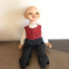 Vintage Whimsie Doll 1960 Wheeler the Dealer by RetroResaleSanDiego