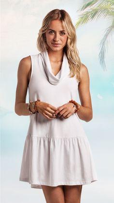 e48fc6943c White Tucker Dress - White Cotton Dress