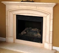 Pacifica Precast Fireplace Mantel and Surround $630  http://www.oldandnewstore.com/Pacifica-p/pacifica.htm