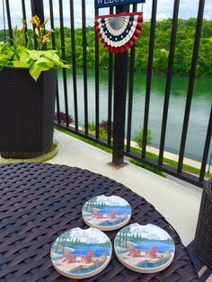 Coasters from Big Cedar Lodge Gift Shop❗️ #LandinLivin Branson, MO