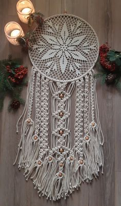 Hanger, Cactus, Wall Decor, Textiles, Dream Catchers, Sewing, Crocheting, Pattern, Diy