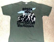 GREEN DAY  21st Century Breakdown Green T-Shirt L
