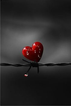 Love hurts, doesn't it?