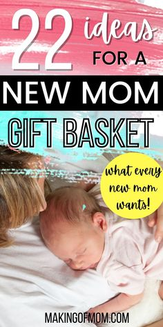 New mom care package ideas - how to diy a beautiful and thoughtful gift basket for the new mom in your life. It doesn't matter if she's a first time mom or an experienced mom, all moms deserves a bit of pampering and love after baby is born. Make a new mom's day! Support the new mom with practical, useful, and encouraging gifts she'll cherish. New Mom Gift Basket, Gift Baskets, Belly Binding, Postpartum Recovery, Trying To Conceive, Mom Day, After Baby, Post Pregnancy, First Time Moms