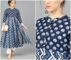Stylish Tops For Women, Bandhani Saree, Kurta Designs Women, Work Dresses, Ethnic Dress, Shalwar Kameez, Rose Dress, Sleeve Designs, Kurtis