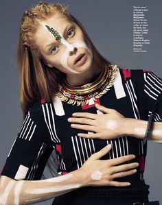 visual optimism; fashion editorials, shows, campaigns & more!: special mode: ehren, nadja, sofie and barbara by james macari and christian anwander for grazia france 28th february 2014