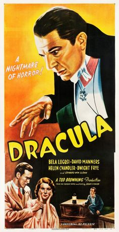 Dracula (R1947) - US Three Sheet