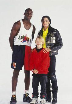 Michael Jordan, Macauley Culkin, Michael Jackson