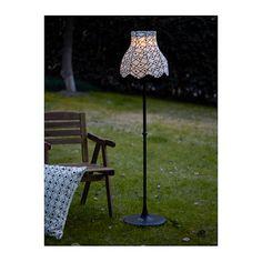IKEA SOLVINDEN LED solar-powered floor lamp