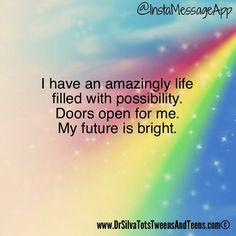 Dr. Silva: Tots, Tweens & Teens ©: Amazing Life Affirmation