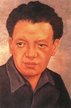 Portrait of Diego Rivera Artiste : Frida Kahlo Période : Art naïf Création : 1937 Genre : Portrait