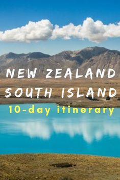 A road trip itinerary around New Zealand's south island showcasing the best spots the best hikes and the best route to optimize your time in New Zealand. Road Trip New Zealand, New Zealand Itinerary, New Zealand Travel Guide, New Zealand South Island, Melbourne, Sydney, Tonga, Bora Bora, New Zealand