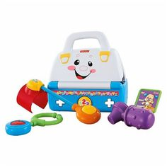 Fisher Price Laugh and Learn Sing a Song Med Doctor Kit Baby Toddler Toy #fisherprice
